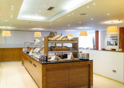 Mercure Hotel Stuttgart Sindelfingen an der Messe Fruehstuecksbuffet Insel/Breakfast Buffet