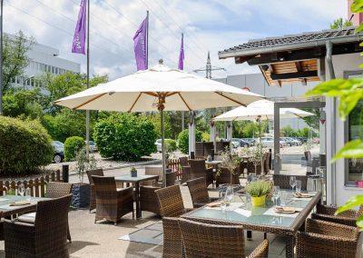 Mercure Hotel Stuttgart Sindelfingen an der Messe Terrasse/Terrace